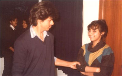 Khan with  Gauri before Marriage