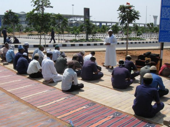 RGIA HYDERABAD ON A JUMA BEFORE PRAYERS